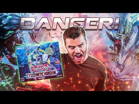 *NEW* YuGiOh Cybernetic Horizon DANGEROUS Box Opening & Review!