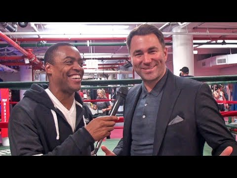 Eddie Hearn: NEGOTIATING NOW! Anthony Joshua vs Deontay Wilder WITHOUT Lou DiBella