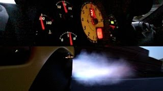 Ferrari 430 Scuderia Exhaust Note and Blue Flames!