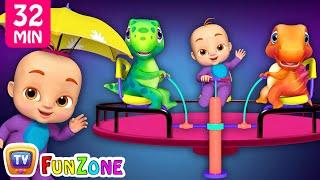 Rain Rain Go Away - Park Song - ChuChu TV Funzone 3D Nursery Rhymes & Songs For Babies