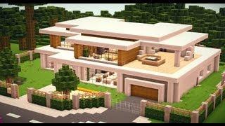 Minecraft Modern House Modernes Haus HD Most Popular Videos - Minecraft hauser installieren