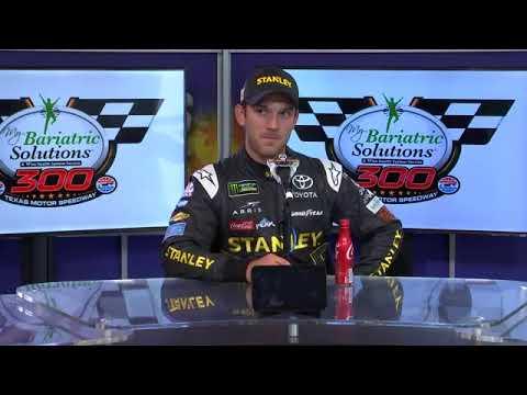2018 NASCAR Texas Monster Cup pre-race Q&A - 1