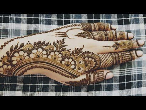 Download New Grid Palm Henna Design Mp4 3gp Mp3 Hd Youtube Videos