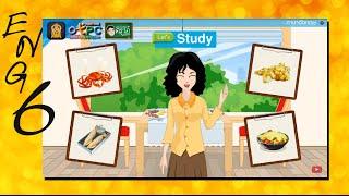 สื่อการเรียนการสอน I like fruit salad (อาหารที่ฉันชอบ และไม่ชอบ) ป.6 ภาษาอังกฤษ