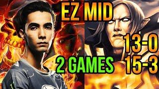 Sumail Invoker & Clinkz - Insane Mid Player - Dota 2 Pro Gameplay