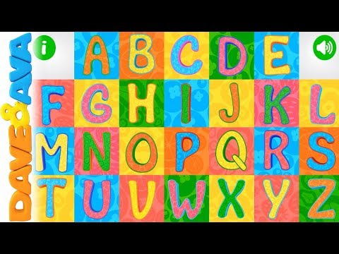 🎯 Learn ABC & Tracing | Phonics for Kids from Dave and Ava 🎯