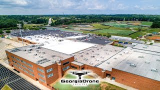 Aerial Photography Of Commercial And Industrial Buildings