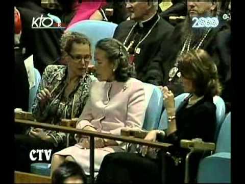 Discours du Pape aux Nations Unies
