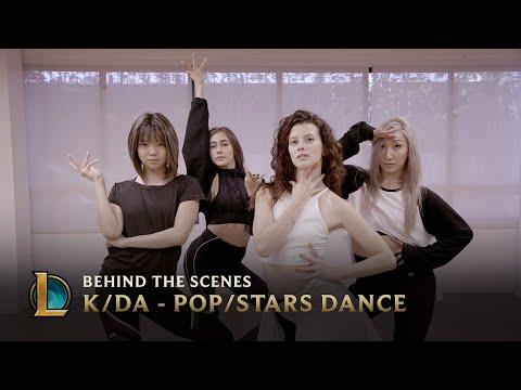 官方 真人跳 K/DA - POP/STARS