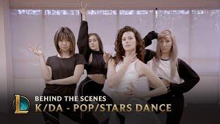 KDA   POPSTARS Dance   Behind The Scenes | League Of Legends