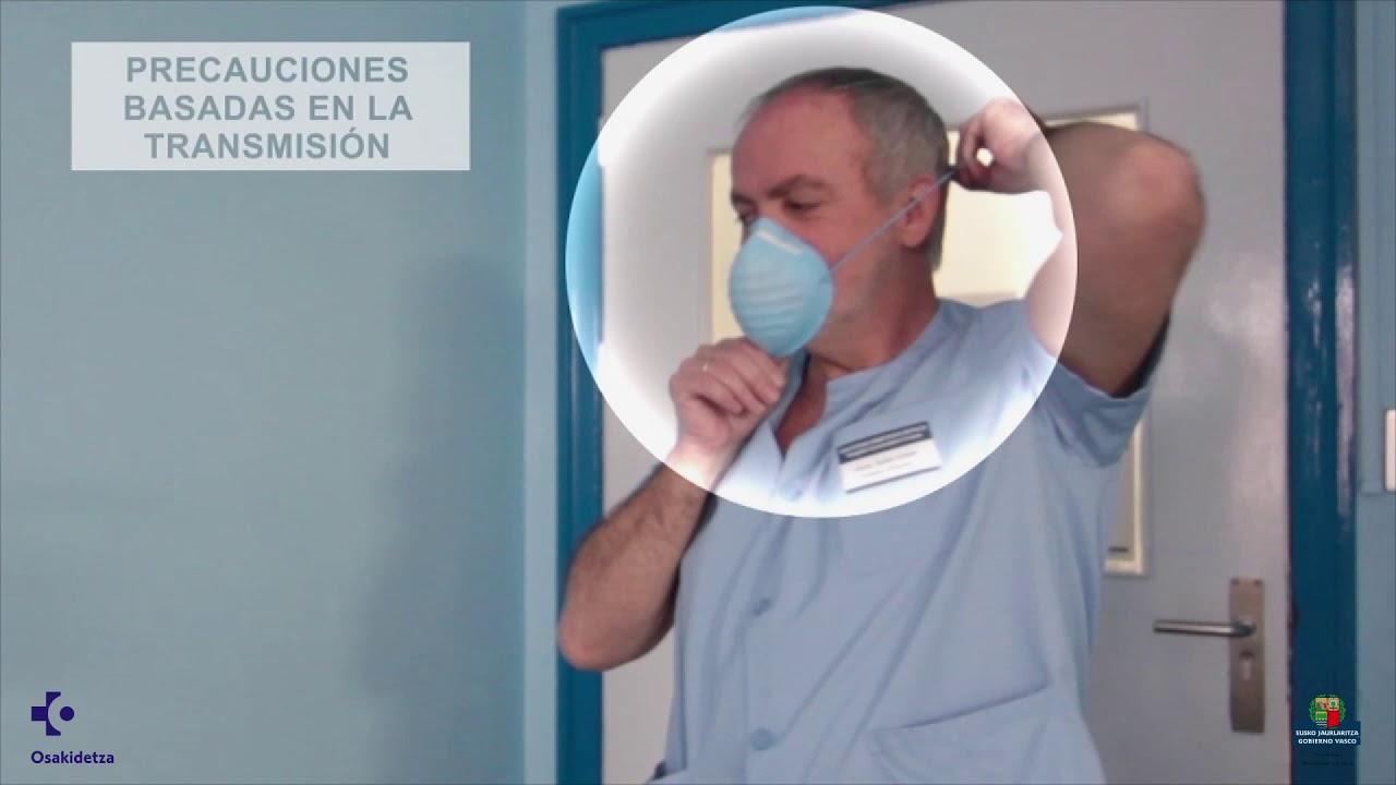 Vídeo sobre Gripe, precauciones de aislamiento