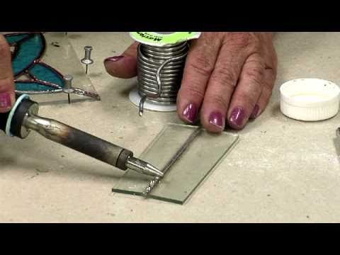How to Solder Stained Glass Panels - Part 2