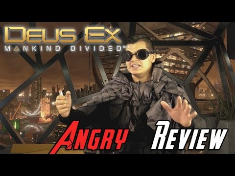 Deus Ex: Mankind Divided Angry Review - YouTube video thumbnail