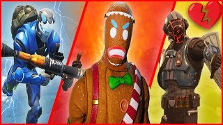 A Story of LOW Sensitivity, A Gingerbread Man & Heartbreak! - Fortnite Gameplay