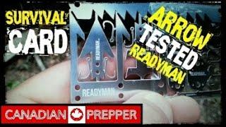 Wilderness Survival Card: Arrow Test | Canadian Prepper