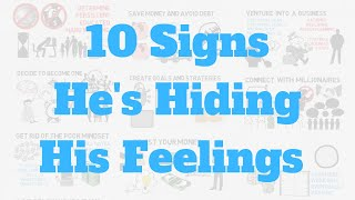 What Are The Signs That A Guy Is Hiding His True Feelings From You