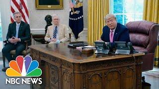 Trump, Republican Leaders Discuss Next Coronavirus Relief Bill | NBC News