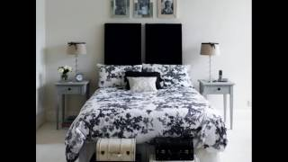 Black White And Gray Bedrooms Ideas