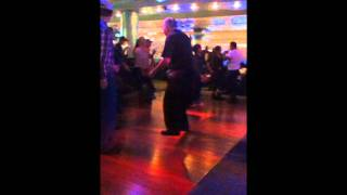 Funny Old Man Dancing At Fox Casino