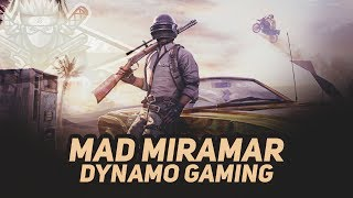 PUBG MOBILE LIVE WITH DYNAMO GAMING | NEW UPDATE + MAD MIRAMAR & GOLDEN MIRADOR