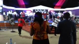 The Praise Dancers @ House of Grace Church, Langata, Nairobi