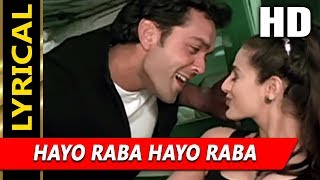 Hayo Raba Hayo Raba With Lyrics | Sonu Nigam   - YouTube