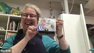 """Zoom """"Mini Art Retreat"""" Show and Tell: Decoupage Boxes"""