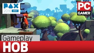Hob gameplay - atmosphere and puzzle-solving from the creators of Torchlight