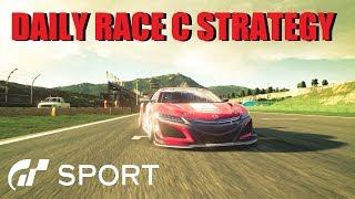 GT Sport Daily Race C Guide & Race Strategy