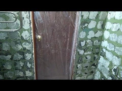 Как без шума и пыли но с ужасной вонью снять старую краску со стен в ванной перед укладкой плитки
