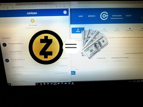 HOW TO TURN ZCASH INTO USD FOR FREE!
