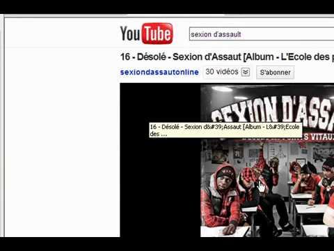 comment trouver l'adresse url d'une chanson sur youtube