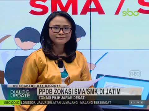 PPDB sistem zonasi SMA /SMK di Jatim