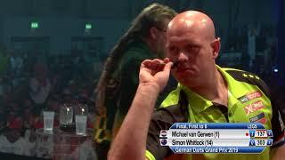 2019 German Darts Grand Prix final - Van Gerwen v Whitlock