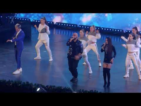 "VITAS ft. Artik & Asti_Blue Frosting_""The Main New Year's Concert""_Fan's Schooting_December 16_2018"
