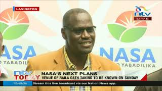 Nasa lays out Raila 'oath' plans - VIDEO
