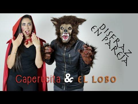 Disfraz en pareja: Caperucita Roja & El Lobo | LuzDepp