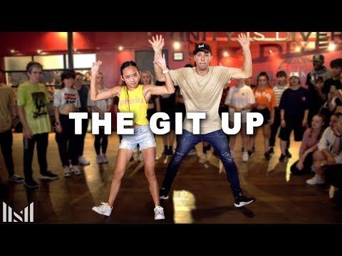 THE GIT UP - Blanco Brown Dance | Matt Steffanina ft Nicole Laeno