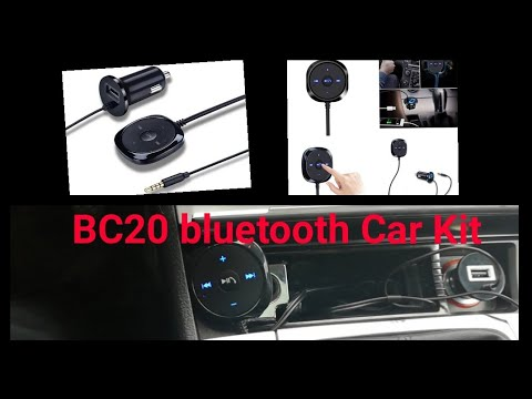 BC20 bluetooth Car kit test