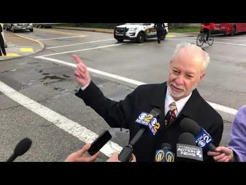 Tree of Life Rabbi Jeffrey Myers vowed to rebuild following a weekend massacre at his Pittsburgh synagogue where Robert Gregory Bowers is accused of killing 11 people in what is believed to be the deadliest attack on Jews in U.S. history. (Oct. 29)