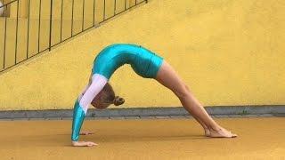 Vom Stand in die Brücke lernen Tutorial gymnastic bridge 💗 turnen by Haley 💗 Haley