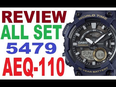 Review Casio AEQ-110W manual 5479