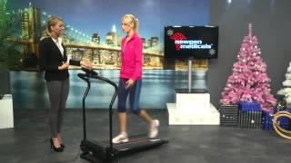 newgen medicals Laufband mit 3 Sport-Programmen, zusammenklappbar