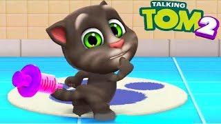 Мой Говорящий Том 2 НОВАЯ ИГРА #7 Друзья Анджела Хомяк My Talking Tom 2 Игровой мультик для детей