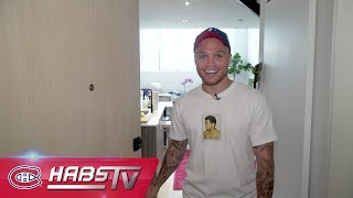CHez Max: A tour of Max Domi's house (Habs Cribs)