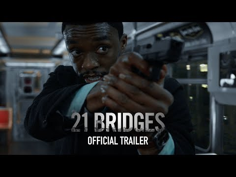 Video trailer för 21 Bridges   Official Trailer   Coming Soon to Theaters