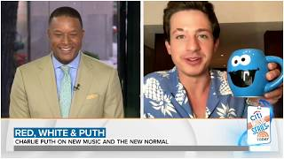 Charlie Puth talks about new single 'Girlfriend'  and collaborating with Elton John. July 3, 2020