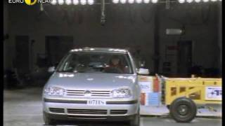 Euro NCAP | VW Golf | 1998 | Crash test