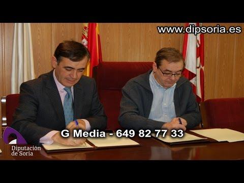 Vídeo de la visita institucional de la Diputación a San Esteban. / Dip.