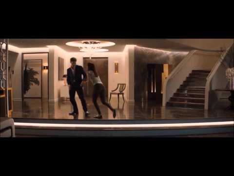 Fifty Shades of Grey dance and dinner scene